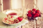 Strawberry-tea